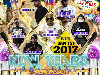 """Ran Blacc Looking Forward To Killing The Stage At The 3rd Annual """"New Years Rap Fest"""" At C"""