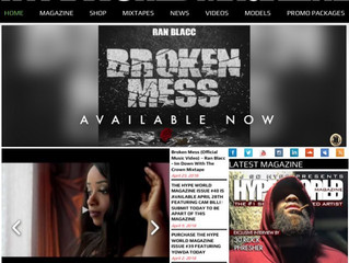 "HypeWorld Magazine showcases Ran Blacc's New Single ""Broken Mess"" Music Video."