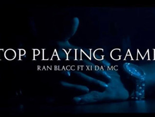 "Its Simply Feel Good Music, Ran Blacc Releases His Long Awaited ""Stop Playing Games"" Mixta"