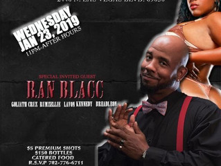 Ran Blacc Special Guests At LACALLE NIGHT CLUB!