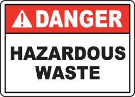 Disposing of hazardous and pharmaceutical waste