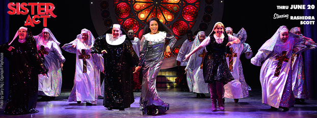 sister act at ogunquit playhouse