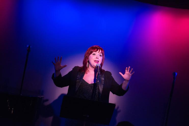 performing at the metropolitan room