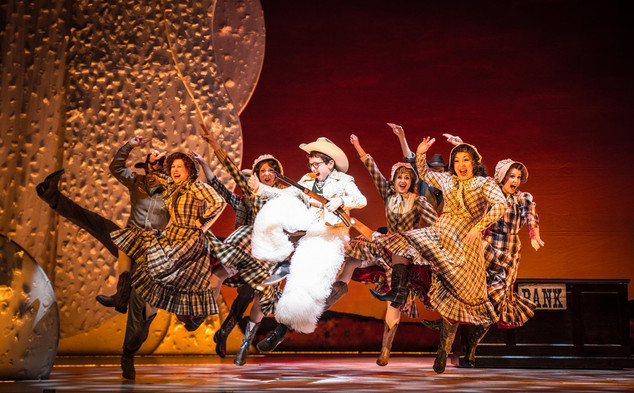 a christmas story at paper mill playhouse