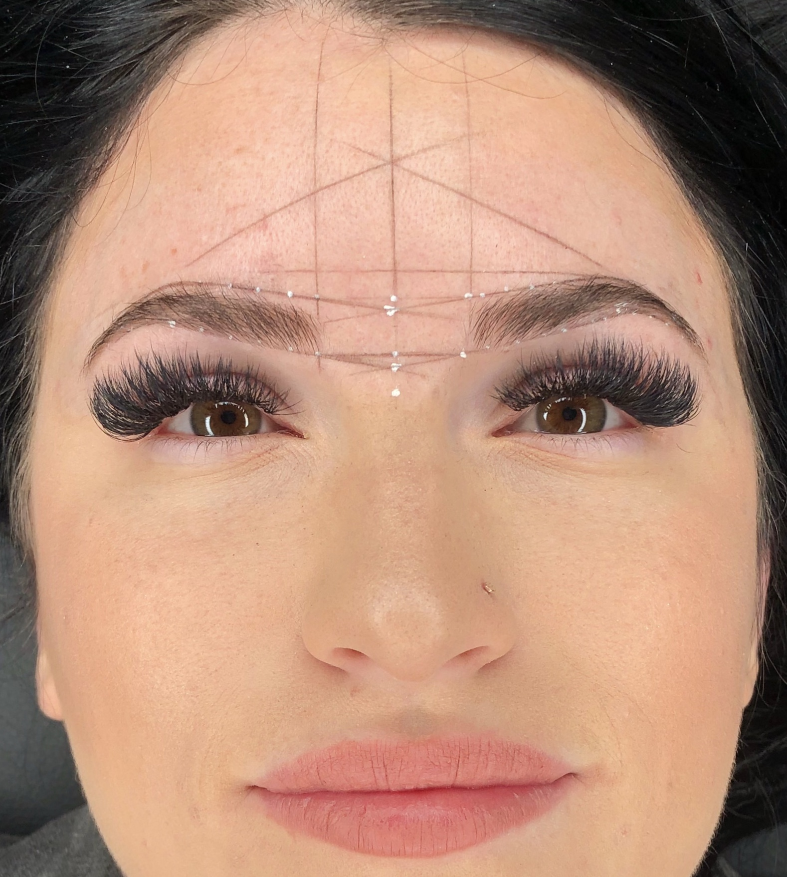 Brow mapping glam