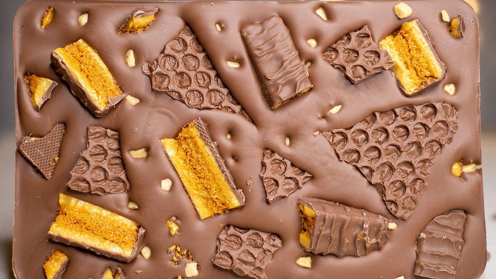 Giant Cadbury Crunchie Slab