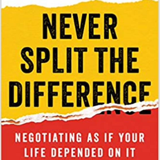 Book Club - Never Split the Difference