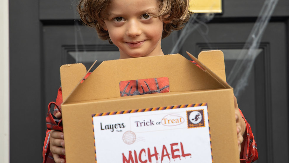 Children's Trick Or Treat Box