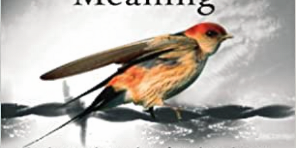 Book Club 18/6/21 Man's Search For Meaning