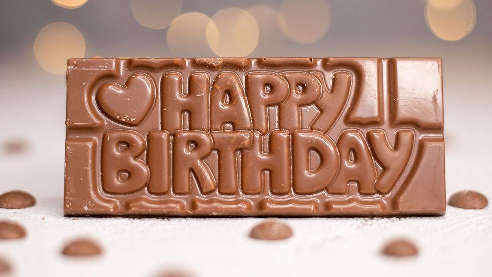 Mini 'Happy Birthday' Bar