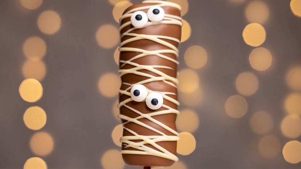 Mummy Marshmallow Pop