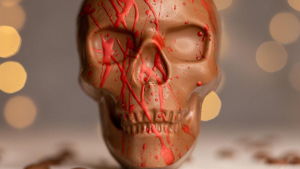 Blood Splatter Skull