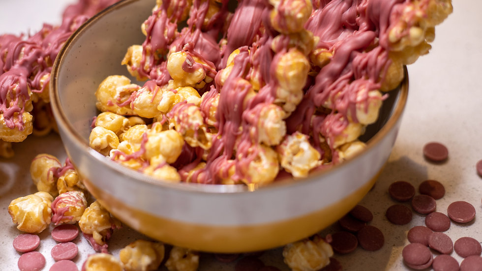 Simply The Breast Ruby Chocolate Popcorn