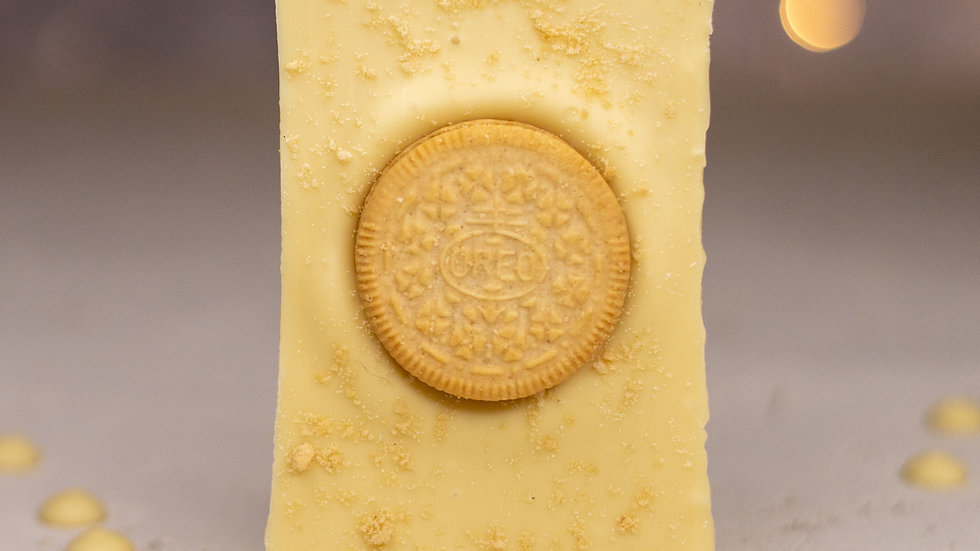 Golden Cookies and Cream Oreo Slab