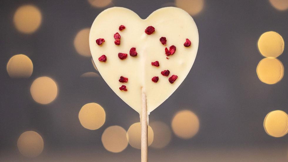 Chocolate Heart Lollipop