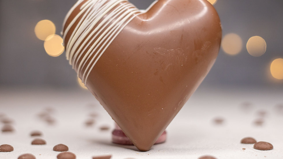 Giant Chocolate Filled Heart