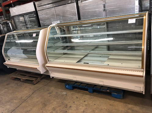 USED COLOMUS DISPLAY CASE SET OF TWO