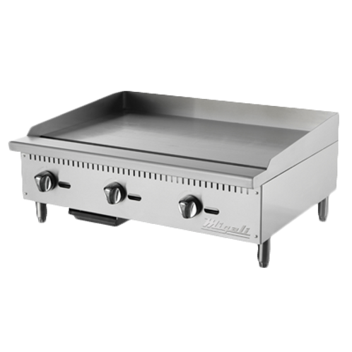 NEW MIGALI GRIDDLE GAS COUNTERTOP