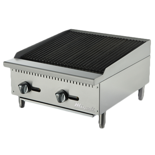 NEW MIGALI CHARBROILER GAS COUNTERTOP
