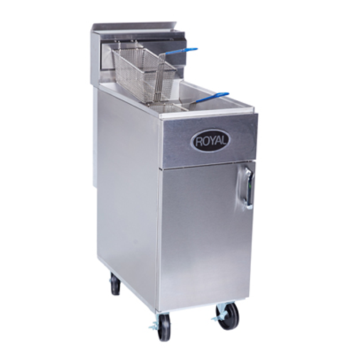 NEW ROYAL FRYER 50LB GAS FLOOR MODEL