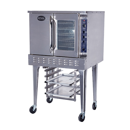 NEW ROYAL CONVECTION OVEN BAKERY DEPTH GAS