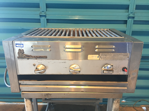 USED LAZYMAN GRILL NATURAL GAS