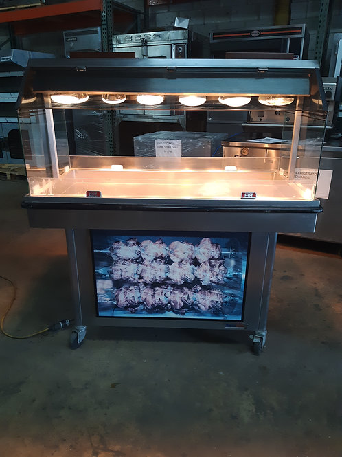 USED CHICKEN DISPLAY WARMER