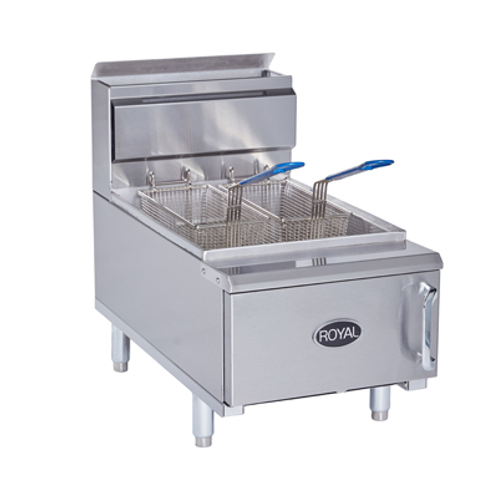 NEW ROYAL FRYER COUNTER TOP GAS