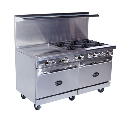 NEW ROYAL RANGE 60' RESTAURANT ,GRIDDLE GAS