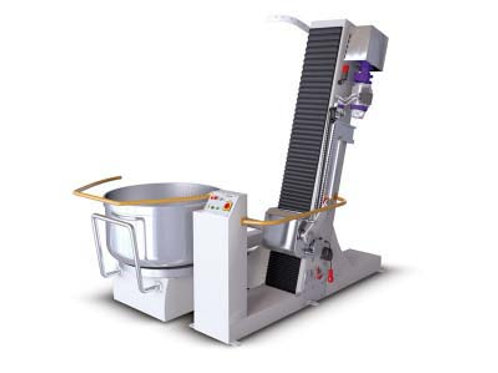 CALL FOR QUOTE.Automatic bowl tilting machine, works compatible with the removab