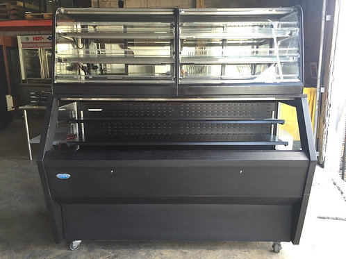 USED Display Convertible Merchandiser W/ Refrigerated Self-Serve Bottom