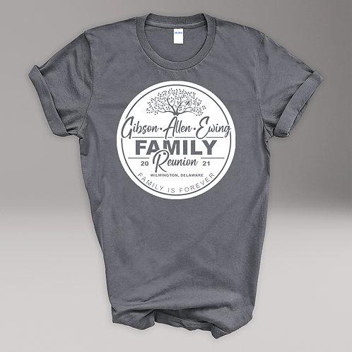 Gibson Allen Ewing Family Reunion T-shirt- YOUTH