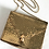 Thumbnail: Vintage Whiting and Davis Brass Mesh Shoulder Purse