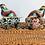 Thumbnail: Set of 2 Vintage Cloisonné Enamel Birds with Brass Feet