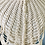 Thumbnail: Rare Vintage Hand Made Cream and Pearl Long Collar