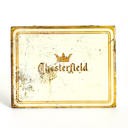 Vintage Chesterfield Tobacco Tin