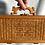 Thumbnail: Vintage 1970s Shanghai Woven Bamboo Lunchbox / Purse
