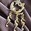 Thumbnail: Vintage Moon, Mermaid, and Seahorse Star Necklace