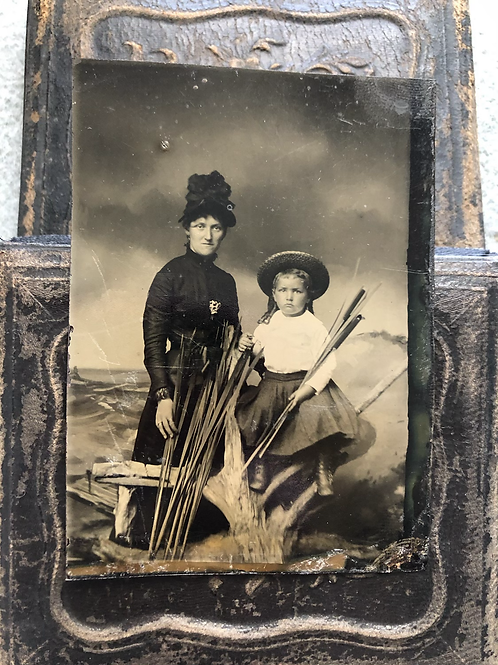 Antique Ladies on the Praire Photo