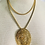 Thumbnail: Vintage Statement Necklace with Water Fowl