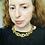 Thumbnail: Vintage Gold Ciner Oval Link Statement Necklace