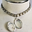 Thumbnail: Vintage Silver Locket Choker with Book Chain