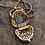 Thumbnail: Vintage Gold Filigree Purse Locket Necklace