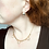 Thumbnail: Dainty Pearl Scroll Style Vintage Necklace