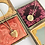 """Thumbnail: Two Sided Vintage Round """"R"""" GoldFilled Locket"""