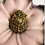 Thumbnail: Intricate Vintage Brass Pin with Angels