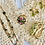 Thumbnail: Vintage Hand Made Cream Butterfly Doily