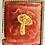 Thumbnail: Vintage Gold Magic Mushroom 1960s Broach Pin