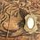 Thumbnail: Antique Victorian Hair Locket with Purple Rhinestone