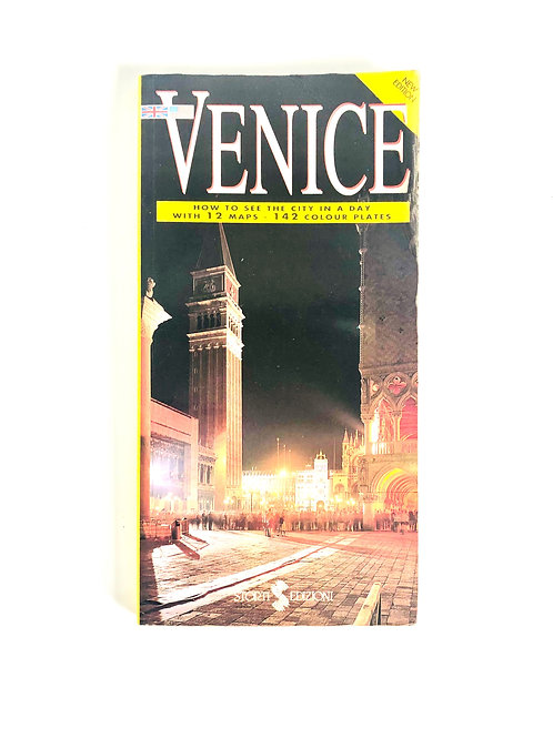 Vintage Venice Italy City Guide from 1993